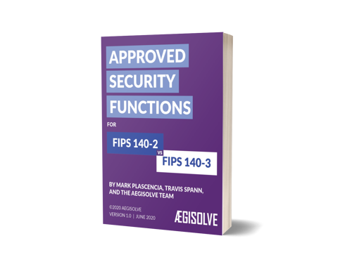 Approved Security Function eBook